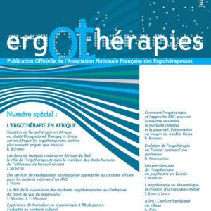 N°46 – Juin 2012 : Ergothérapie en Afrique