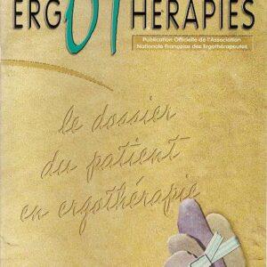 N°05 – Mars 2002 : Le dossier du patient en ergothérapie