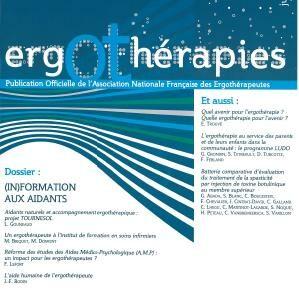 N°26 – Juin 2007 : Dossier (in)formation aux aidants