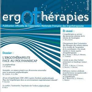 N°28 – Décembre 2007 : L'ergothérapeute face au polyhandicap