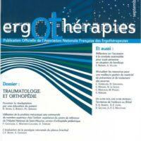 N°31 – Septembre 2008 : Traumatologie et orthopédie