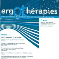 N°34 – Juin 2009 : Ergothérapie et autisme