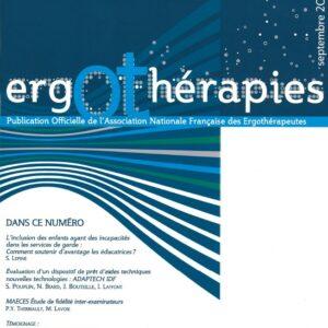 N°35 – Septembre 2009 : Dans ce numéro