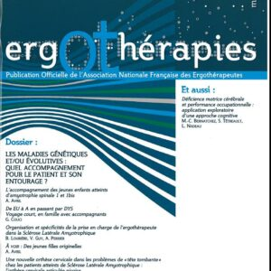 N°37 – Mars 2010 : Les maladies génétiques et/ou évolutives : quel accompagnement pour le patient et son entourage ?