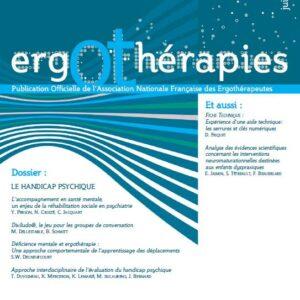 N°38 – Juin 2010 : Le handicap psychique