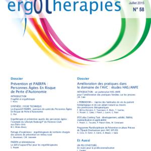 N°58 – Juillet 2015 : Prévention et PAERPA / Amélioration des pratiques dans le domaine de l'AVC