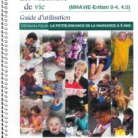 """Instrument de """"Mesure des habitudes de vie"""" ( version 4.0) 0 4 ans"""