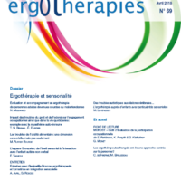 N°69 – Avril 2018 : Ergothérapie et sensorialité