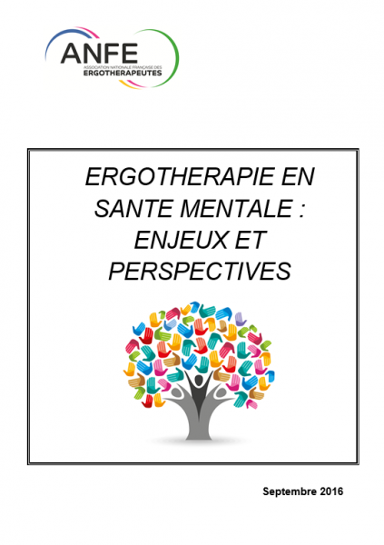 ergothérapie santé mentale